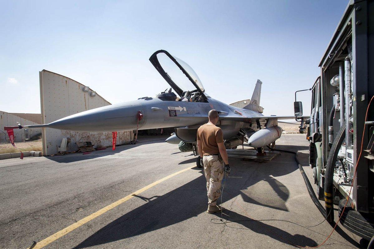 'Welcome home'! F-16's op 2 januari weer thuis